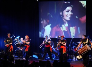 band and video - Exeter - photo Tom Hurley